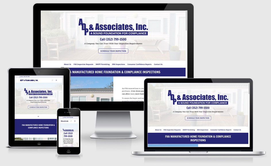 ADP & Associates — Brooksville, FL Website Design