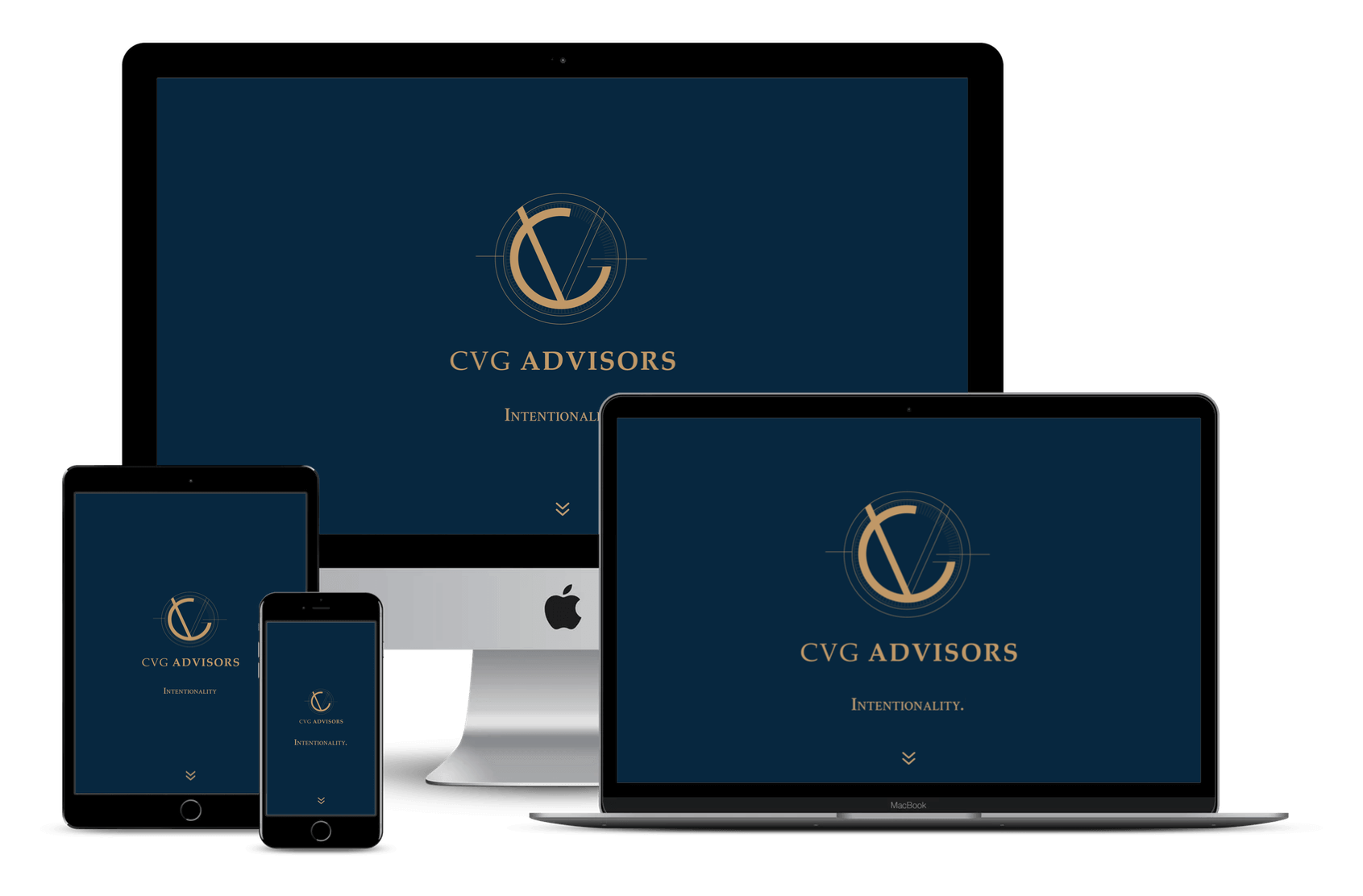 CVG Advisors - Website Design for Financial Services