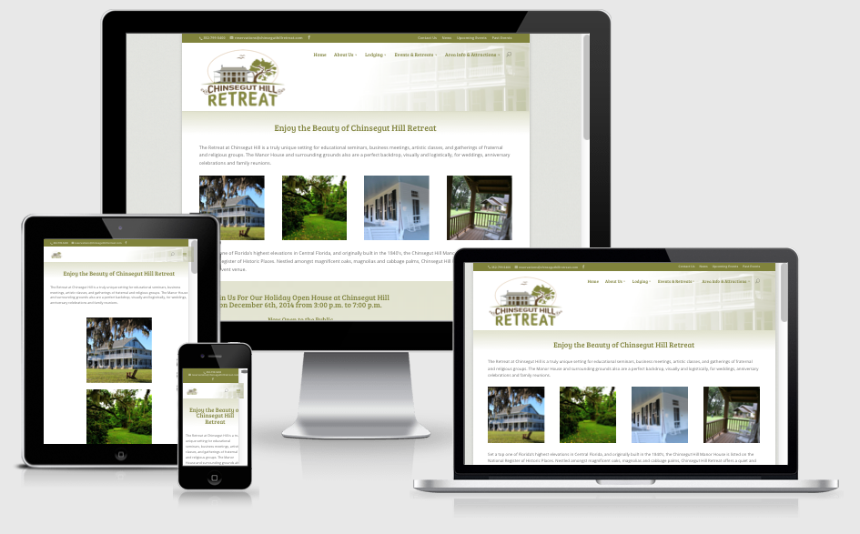 Travel & Tourism Website Design — Brooksville, FL