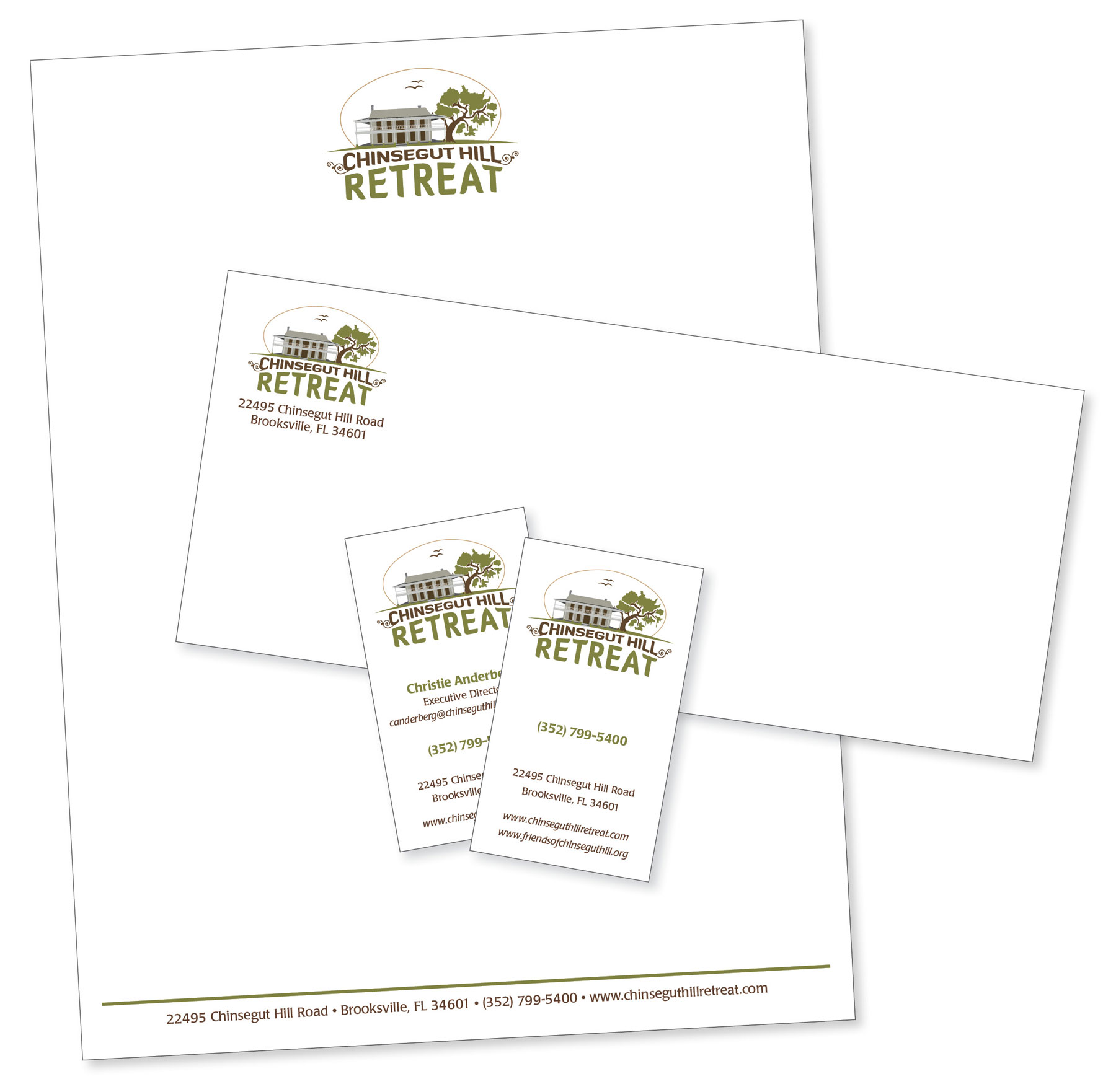 Chinsegut Hill Retreat Letterhead Package