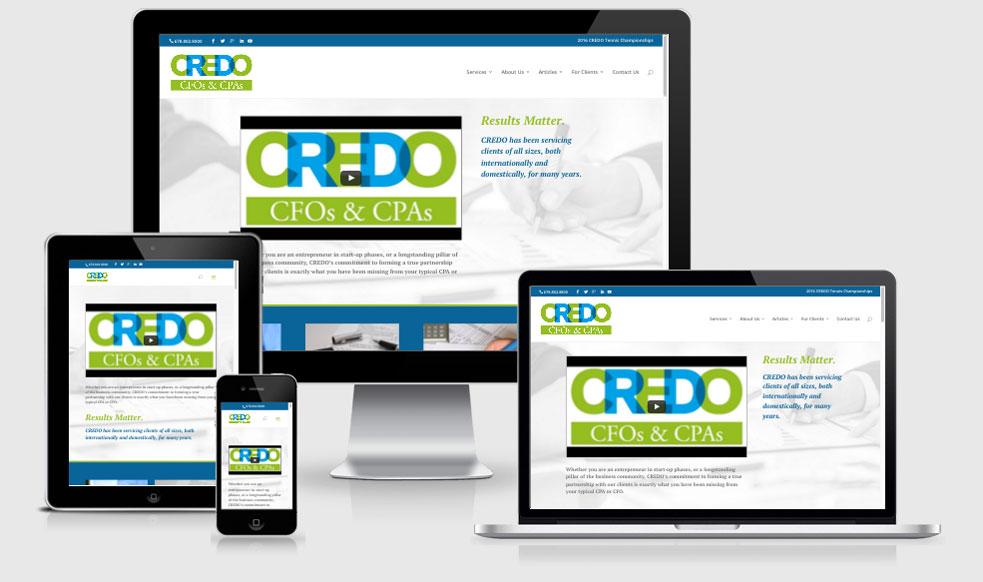 Accounting & Financial Services Website Design — Atlanta, GA