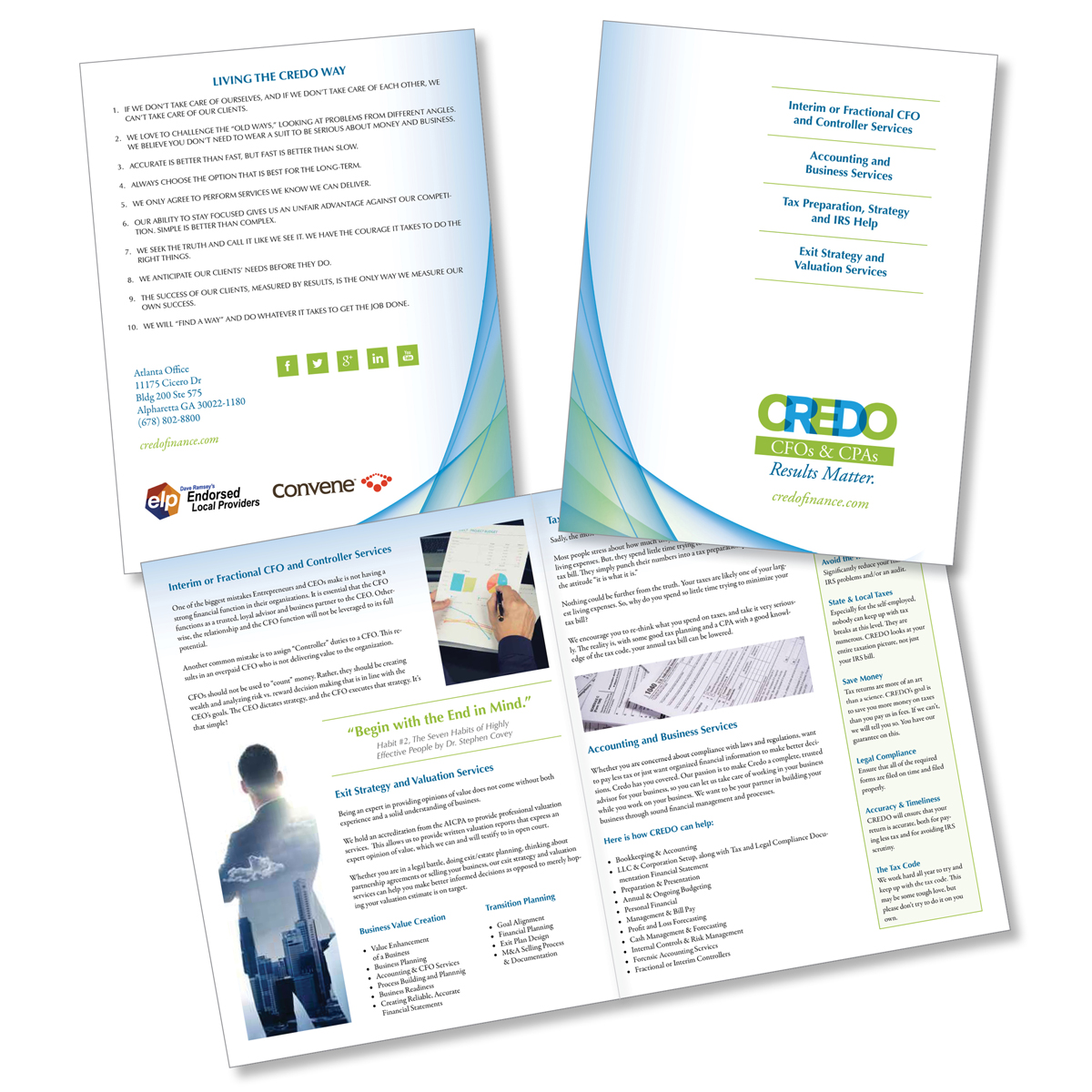 Financial Services BiFold Brochure