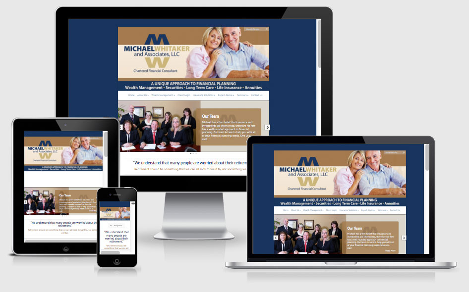 Financial Services Website Design — The Villages, FL