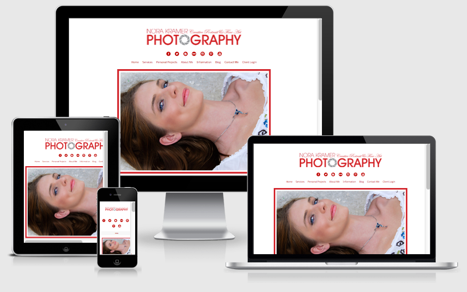 Photography Website Design — Orlando, FL