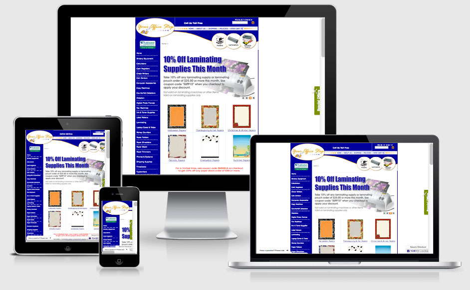 eCommerce Website Built on the Yahoo Stores Platform — Tampa, FL