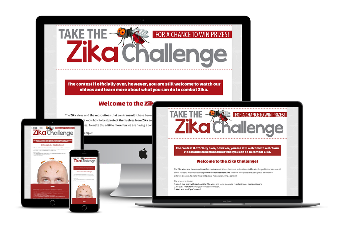 Zika Challenge Contest — New Port Richey, FL Website Design
