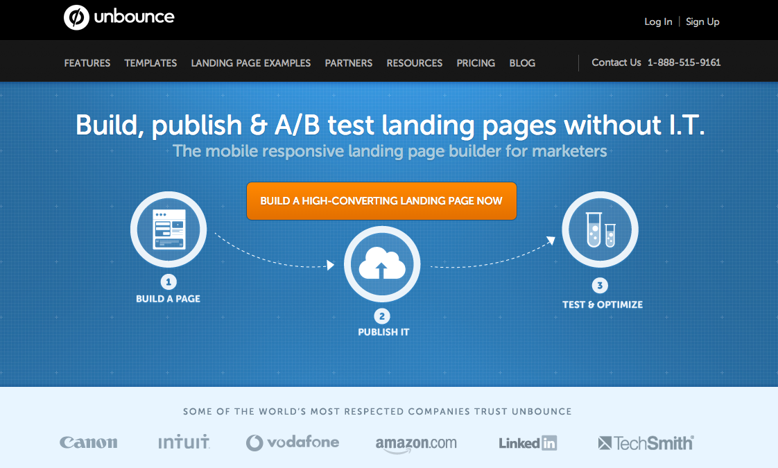 Unbounce Infographic
