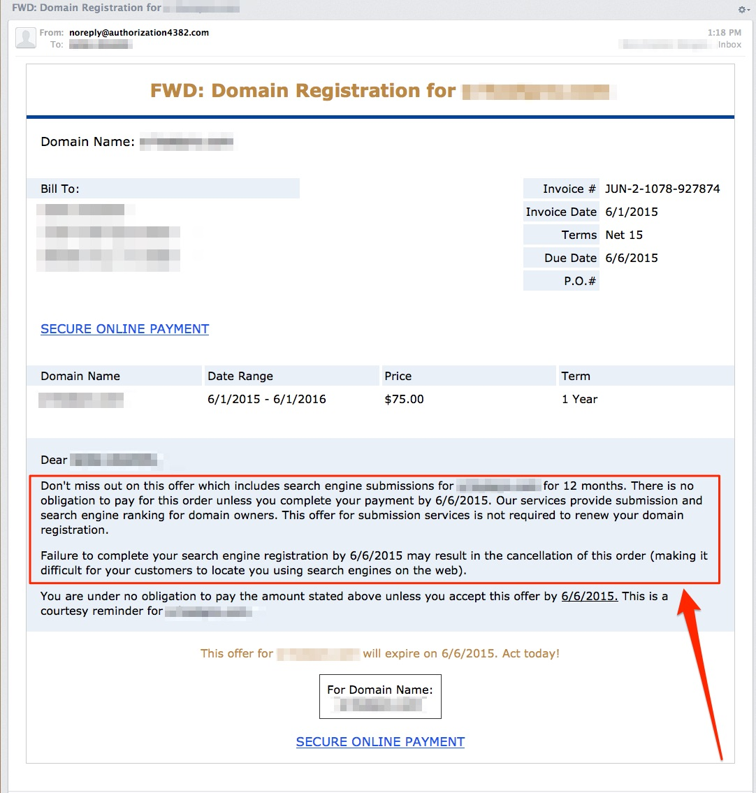 Domain-Name-Scam-Email