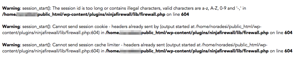 WordPress-Error-Message-1