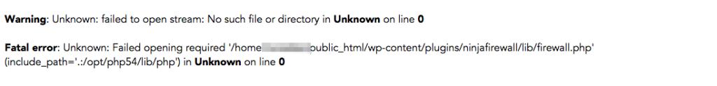 WordPress-Error-Message-2