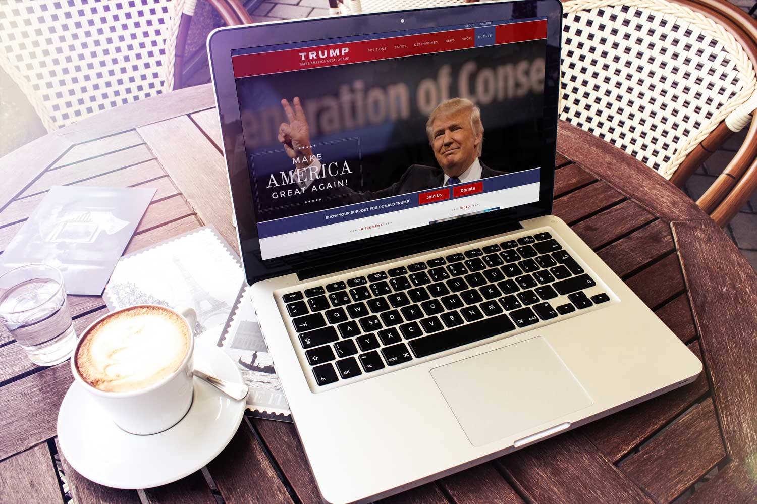 Trump-Campaign-Website