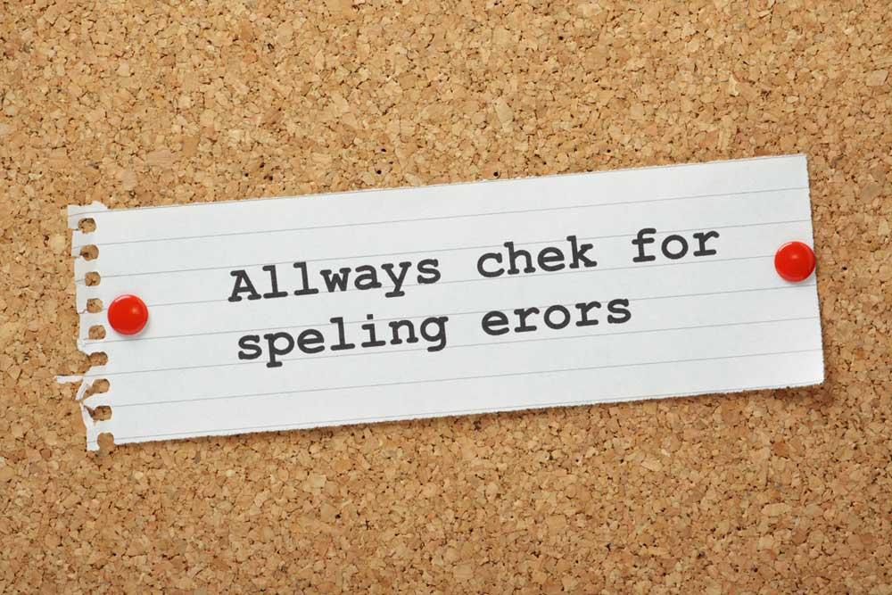 Spelling-Errors