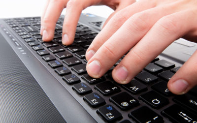 Blogging Keyboard Typing