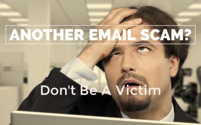 Email Scam Victim