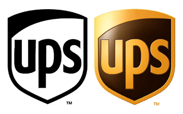 UPS Logo BW Color