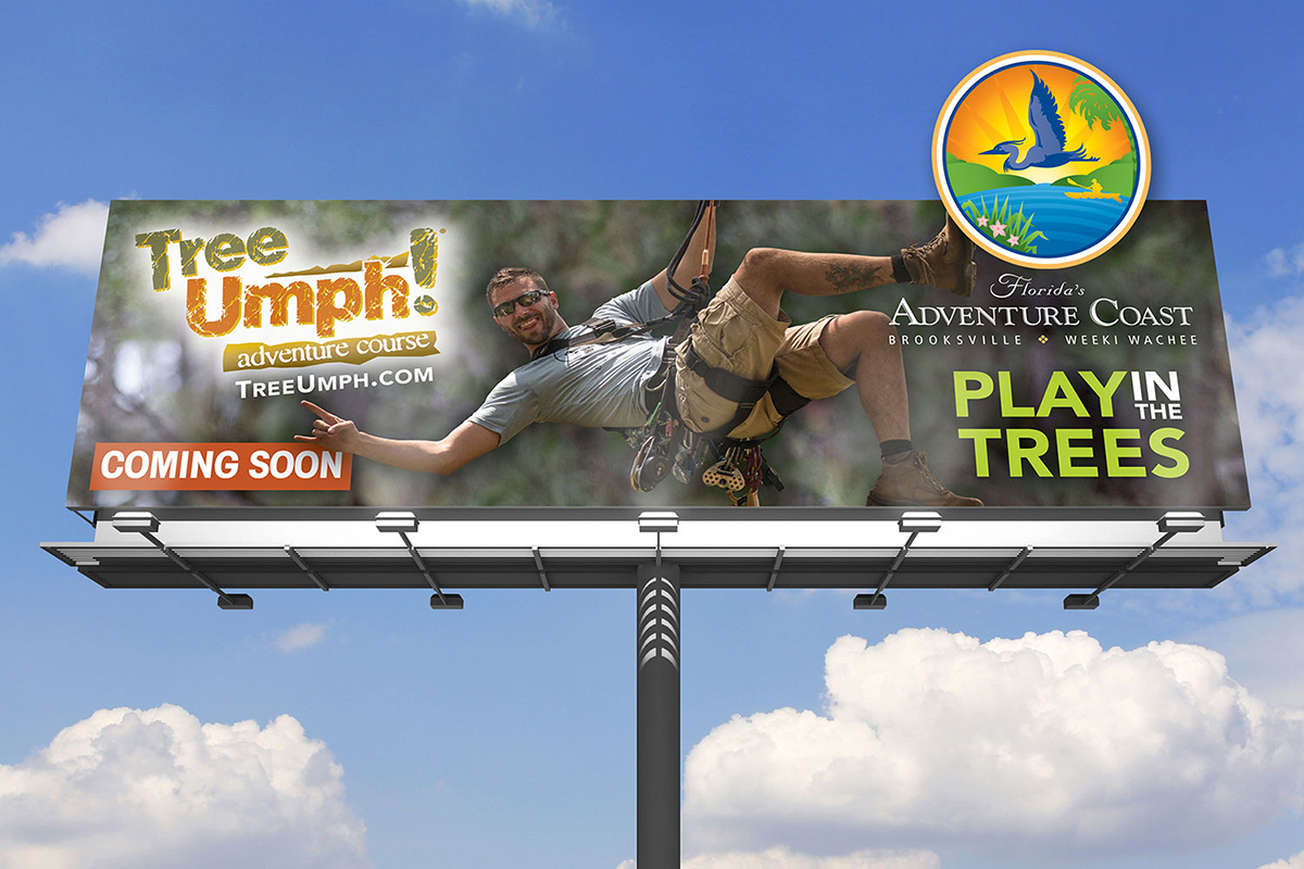TreeUmph! Hernando County Billboard Design
