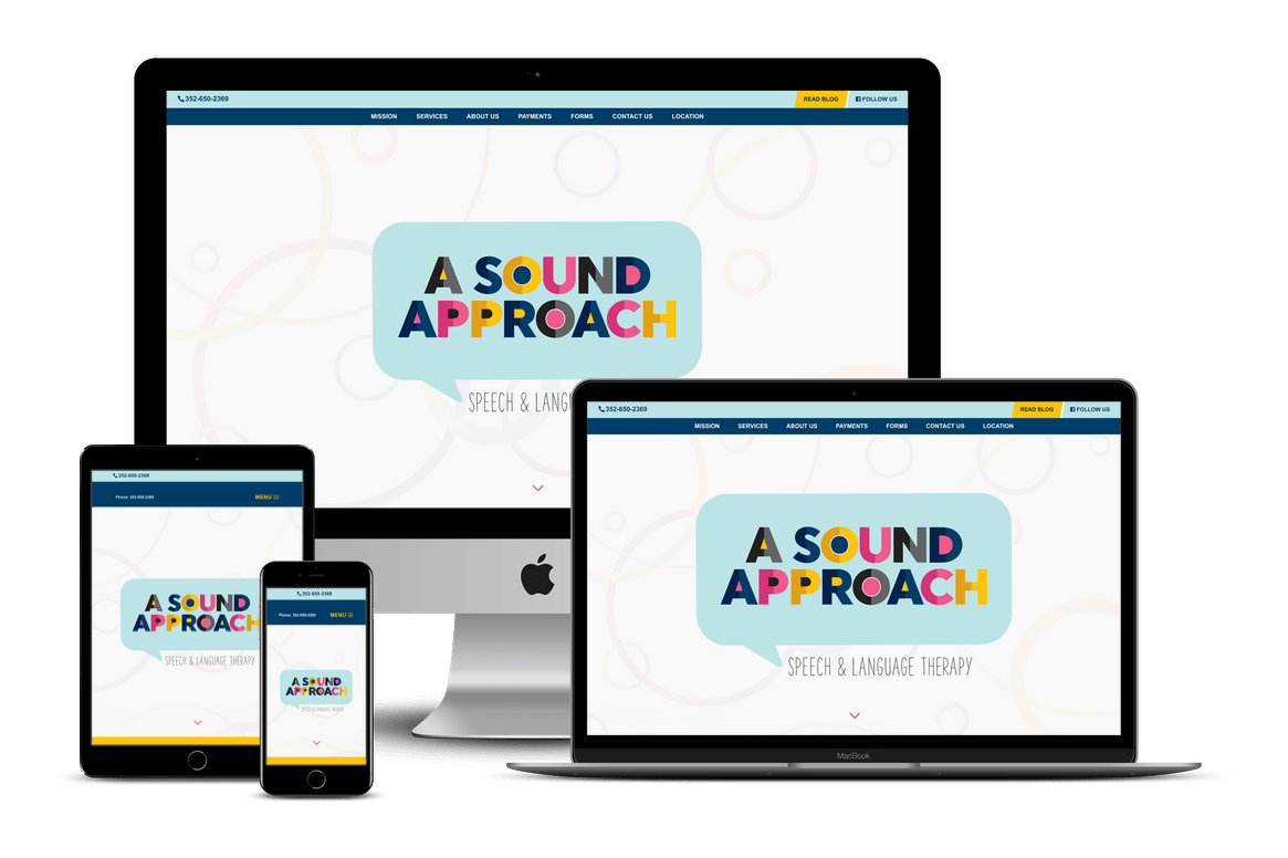 A Sound Approach Speech & Language Therapy — Spring Hill, FL Website Design