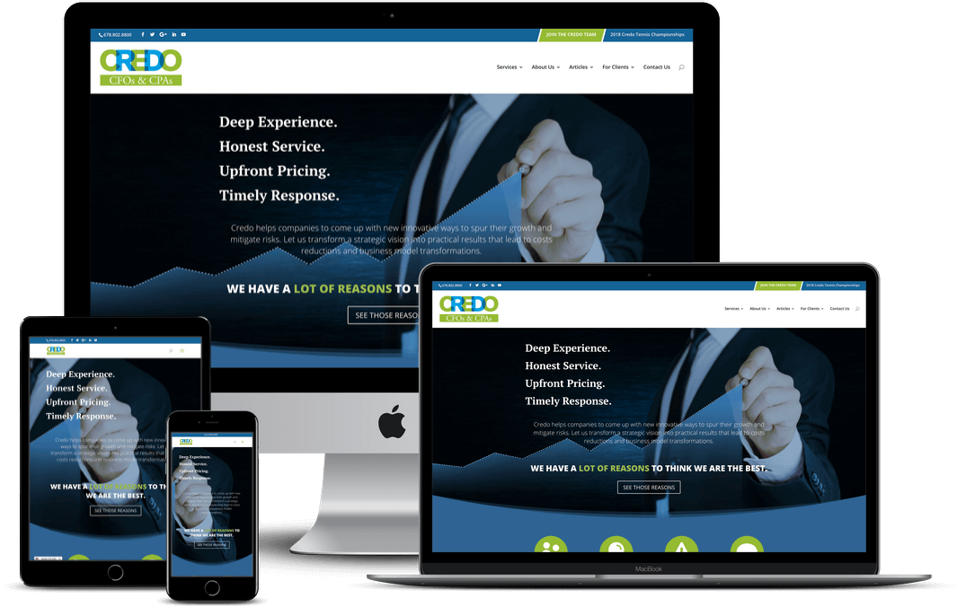 Accounting & Financial Services Website Design — Tampa, FL