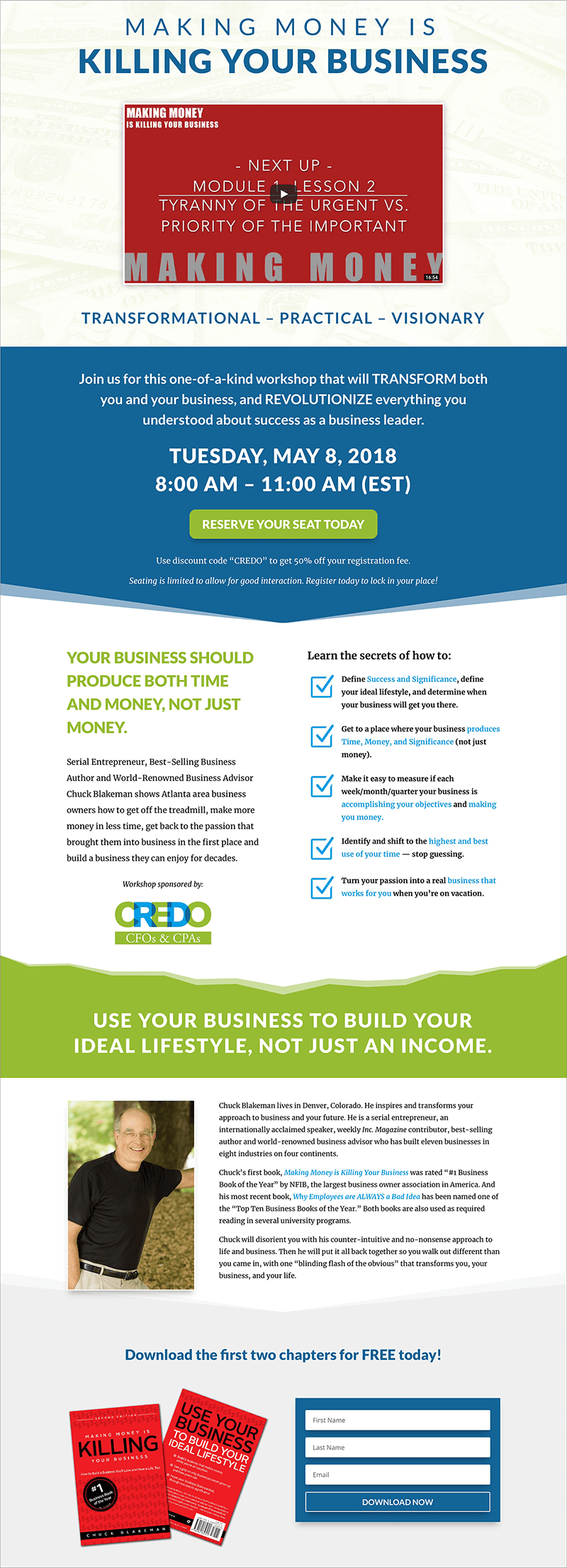 Lead Page Web Design — Tampa Bay, FL