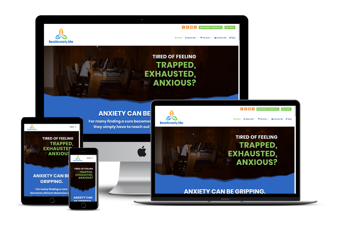 Personal Coaching Website Design — Brooksville Website Designer / Hernando, FL