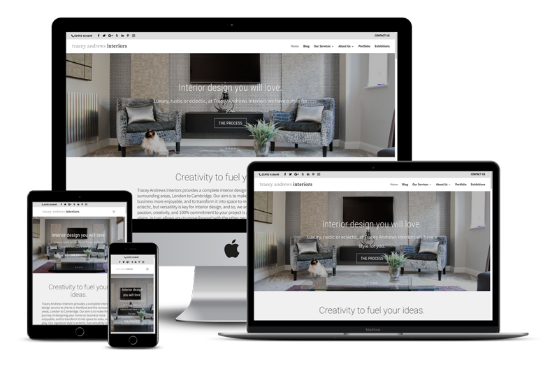 Interior Design Website Designer - Tampa, FL