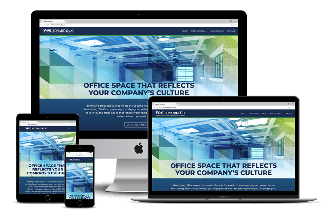 Real Estate Leasing Website Design – Pasco, FL