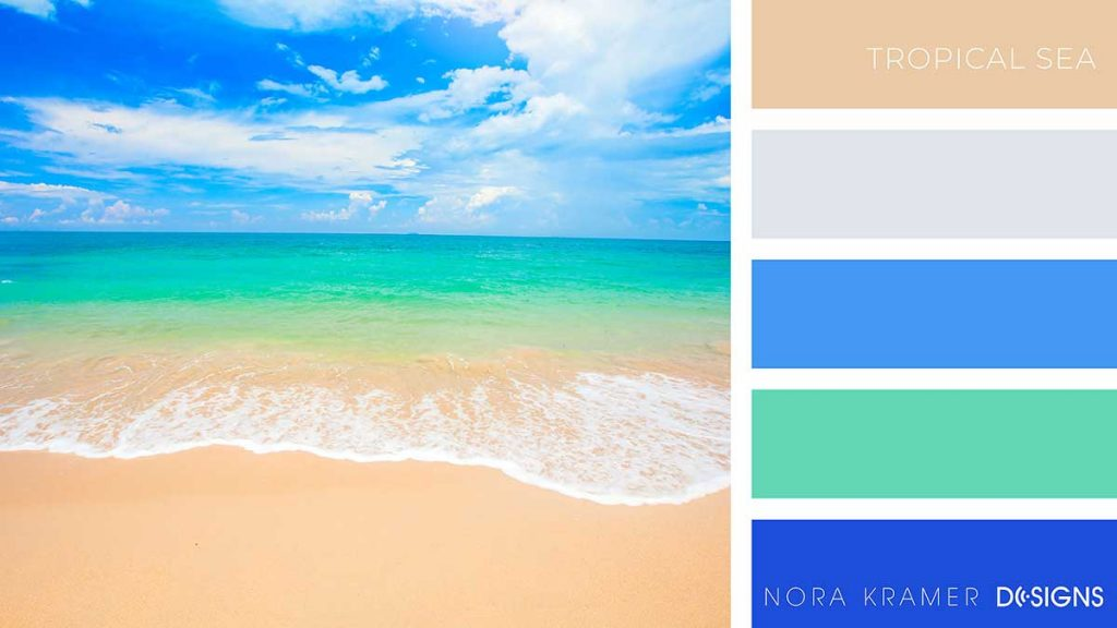 Tropical Sea Color Palette