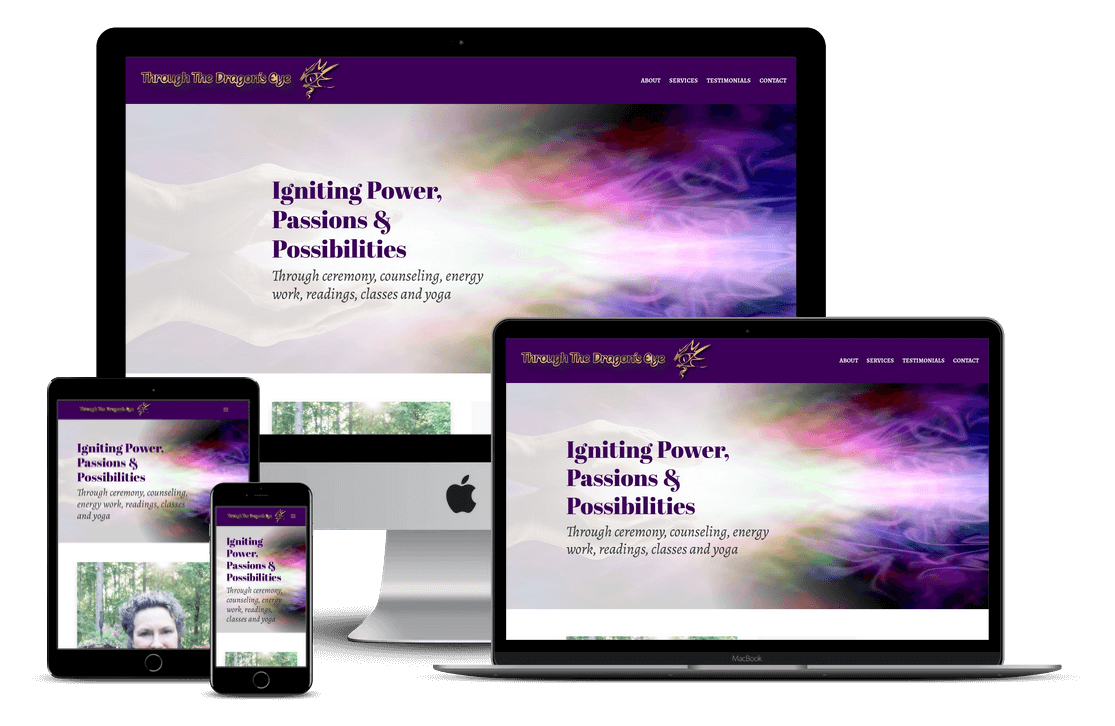 Holistic Services Website Design - Tampa, FL