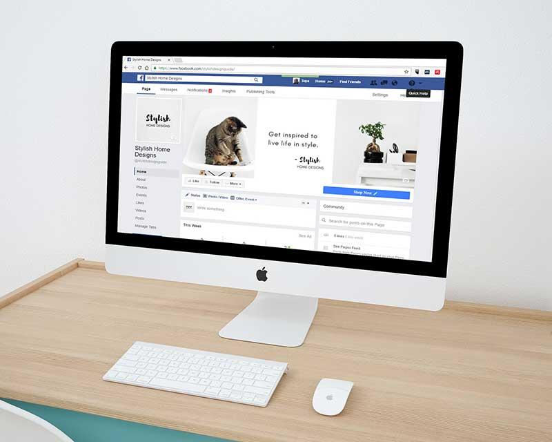 social media marketing facebook page