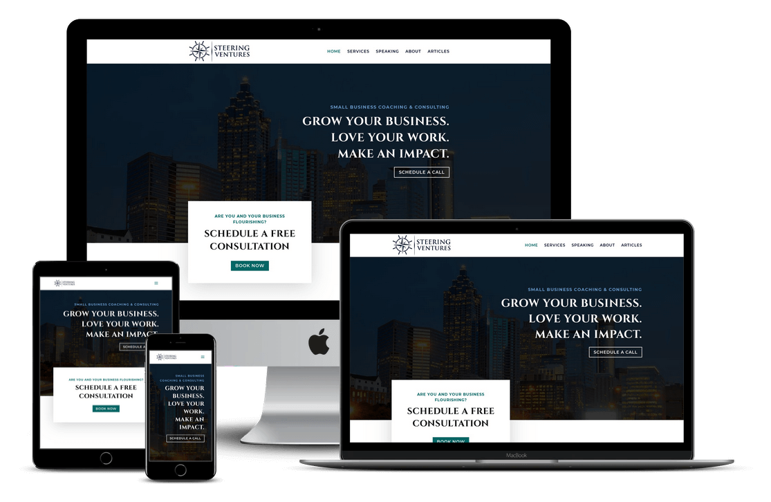 Business Coach Web Design in Tampa FL