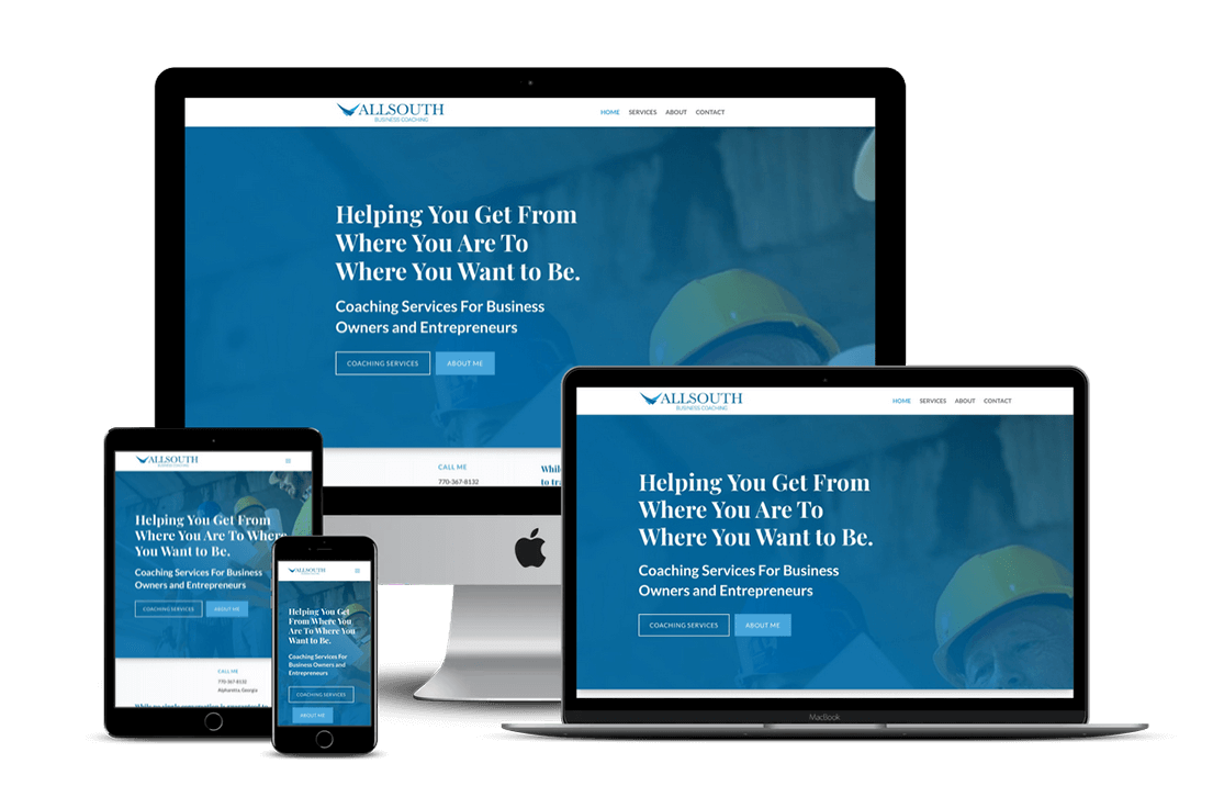 Business Coach Website Design — Miami, FL