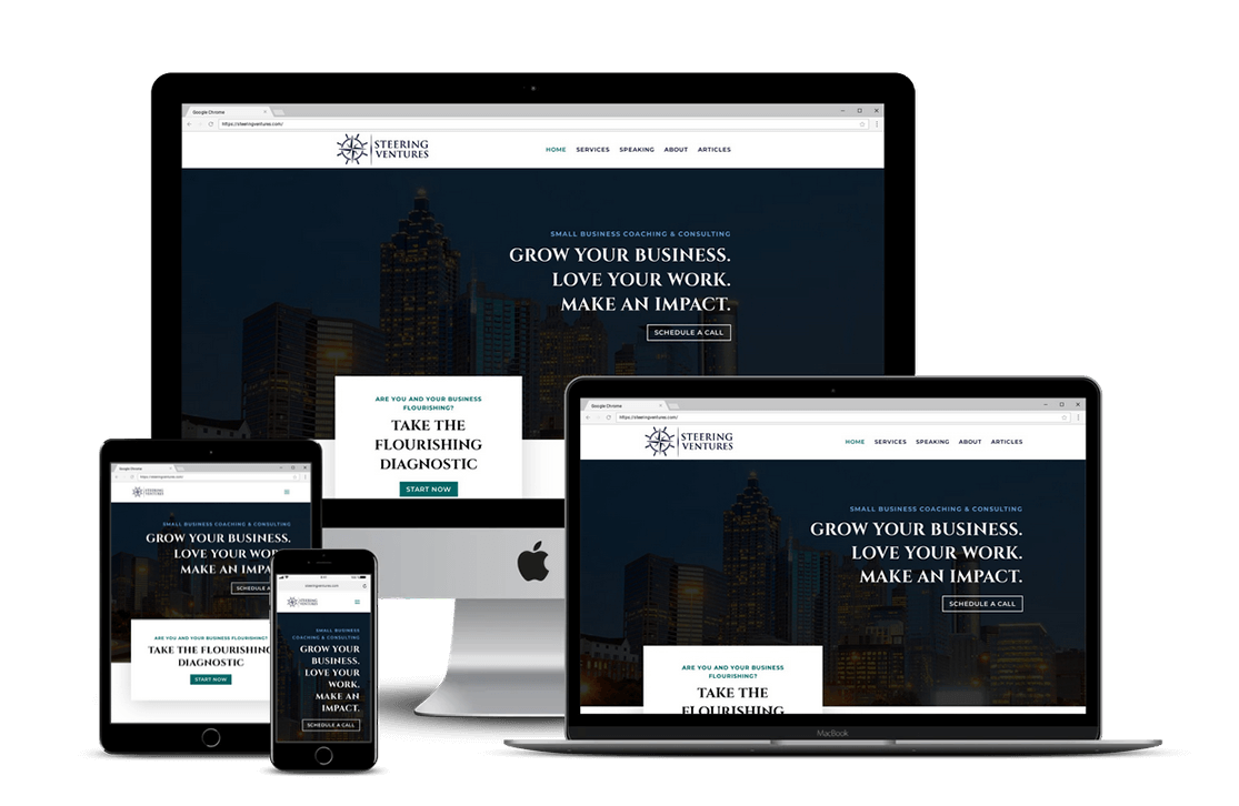Business Coach Website Design — Tampa, FL