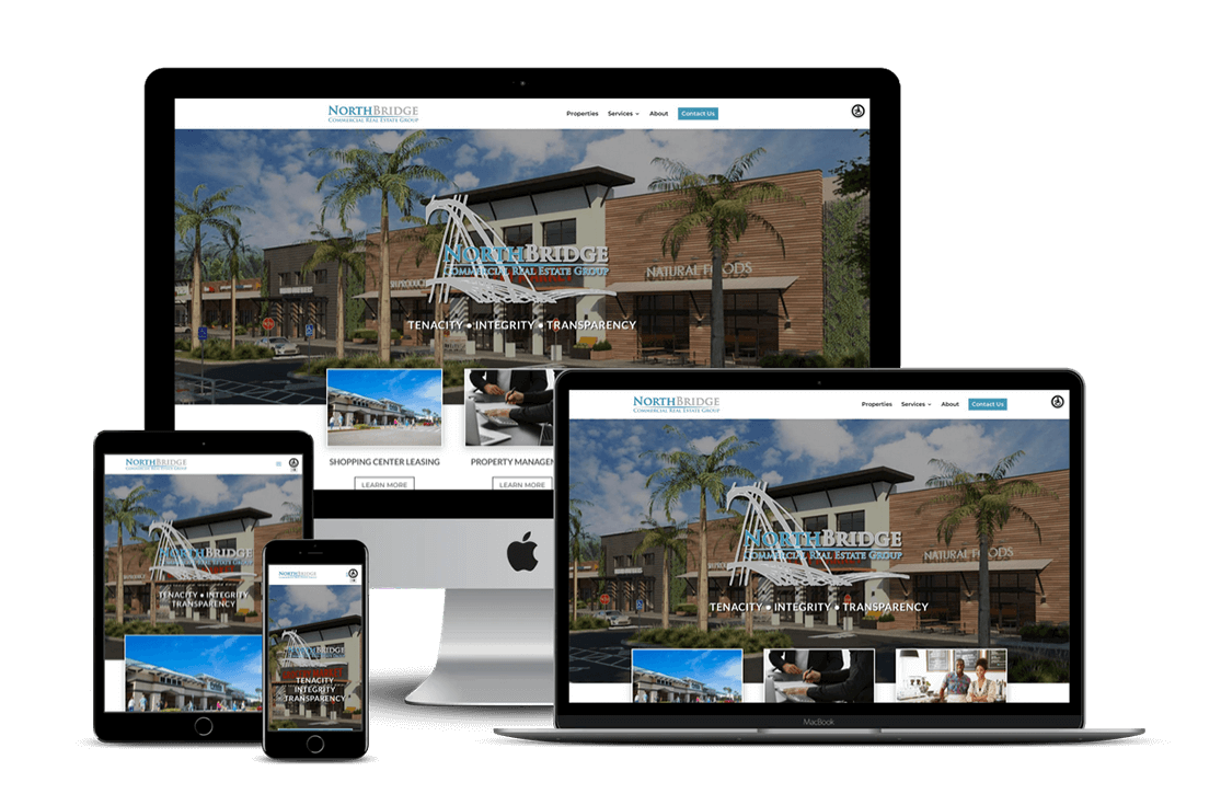 Commercial Real Estate Agency Website Design — Tampa, FL